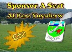 Sponsor A Seat Campaign At Parc Ynysderw