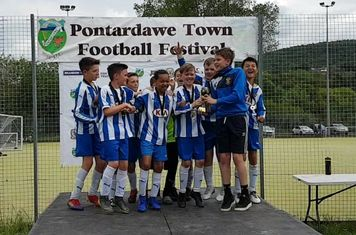 Sandfields Colts U12s Winners