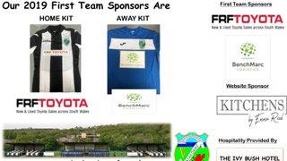 Thanks To Our New Kit Sponsors - Toyota & Benchmarc Logistics