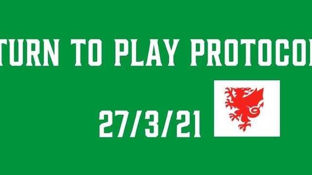 FAW Return To Play Protocols 27/3/21