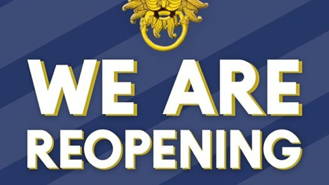 We're Re-opening !