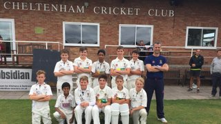 Cheltenham U13s win league