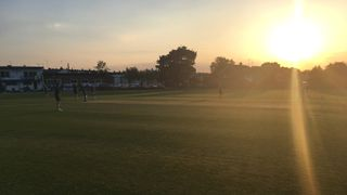 Cheltenham Ladies battle hard against Poulton CC
