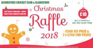 GCC & Gladiators Christmas Raffle 2018