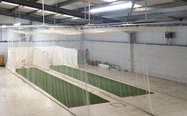Indoor Training at Cluny