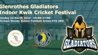 Glenrothes Indoor Kwik Cricket Festival
