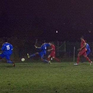 First team secure vital three points against Raynes Park Vale