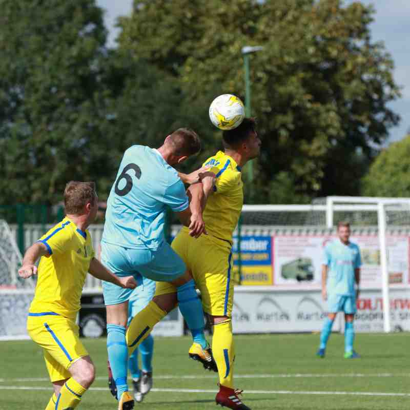 Firsts v Eastbourne Town 19.8.17 (FAC Prelim)