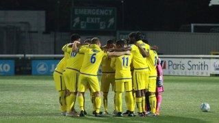 Firsts v Sutton Utd (22.10.18)