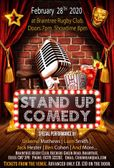 Stand Up Comedy @ Braintree Rugby Club
