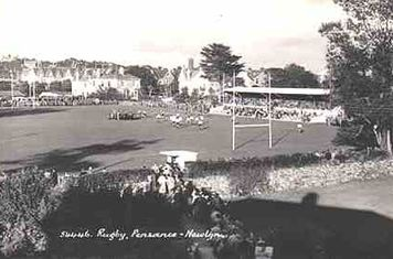 The Mennaye Field in the early 1950s