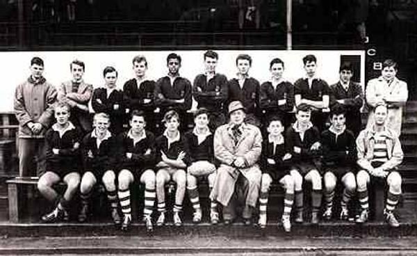 Cornwall Schools team (circa 1960)