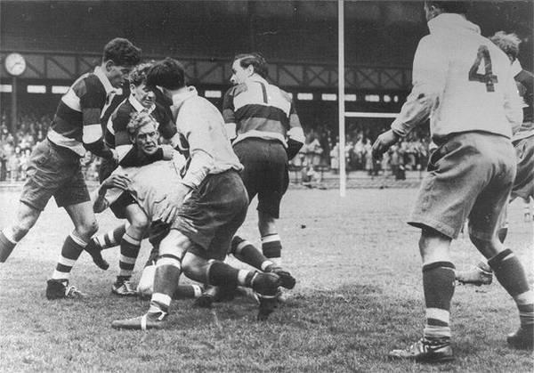 Middlesex Sevens in April, 1951