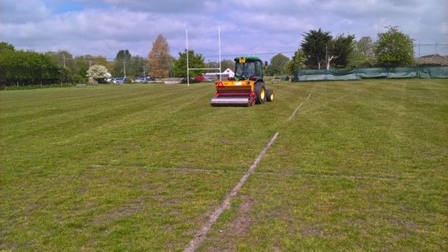 Brownsey's Field Pitch Overseeding