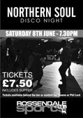 Sat 8th June - Northern Soul Disco Night