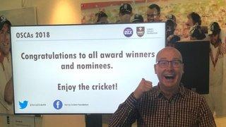 Mike White wins key award at Surrey OSCA's