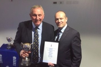 Bill Clutterbuck ECB outground groundsman of the year award!