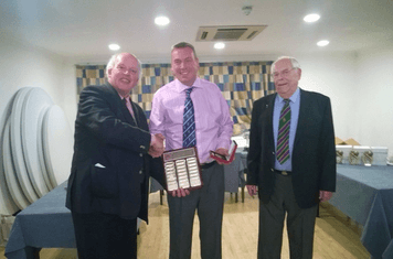 Steve Theobald Berkshire Umpire of the Year!