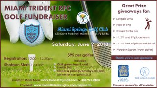 Miami Trident RFC Golf Day
