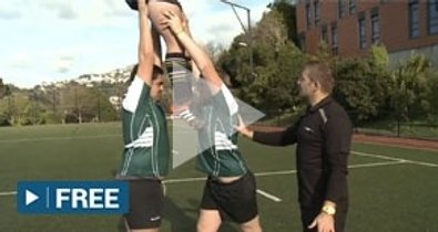Starter Coach - Lineout lifting