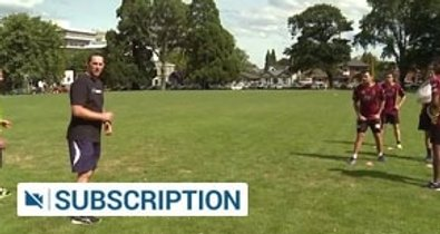 Loose forward defensive work off a lineout