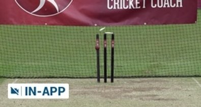Spin bowling arm ball