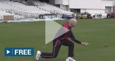 Pickup and throw underarm