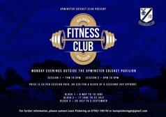 Fitness Club starts Monday 6th May