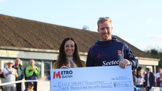 ESSEX CRICKET FOUNDATION BENEFIT DAY - THANK YOU TO OUR SPONSORS