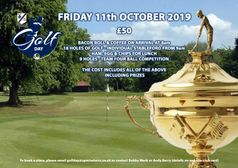 End of Season Golf Day - Upminster Golf Club