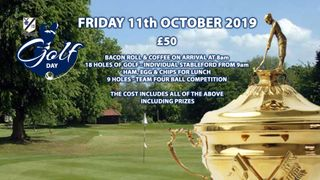 End of Season Golf Day at Upminster Golf Club