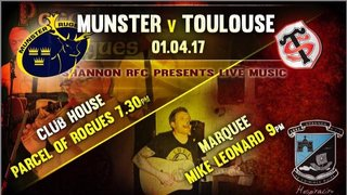 Munster v Toulouse in SRFC Clubhouse