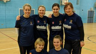 Ladies Indoor Team Enjoys Their First Outing