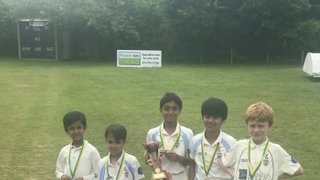 Bagshot U9s at the Camberley CC tournament