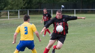 Radcliffe Olympic v Ellistown & Ibstock 09/08/2014