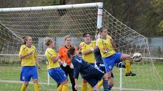 Radcliffe Olympic Ladies v Mansfield Town Ladies 26/10/2014