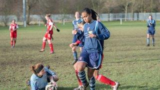 Radcliffe Olympic Ladies v Nottingham Forest Ladies 25/01/2015
