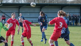 Radcliffe Olympic  Ladies v Loughborough Foxes 22/03/2015