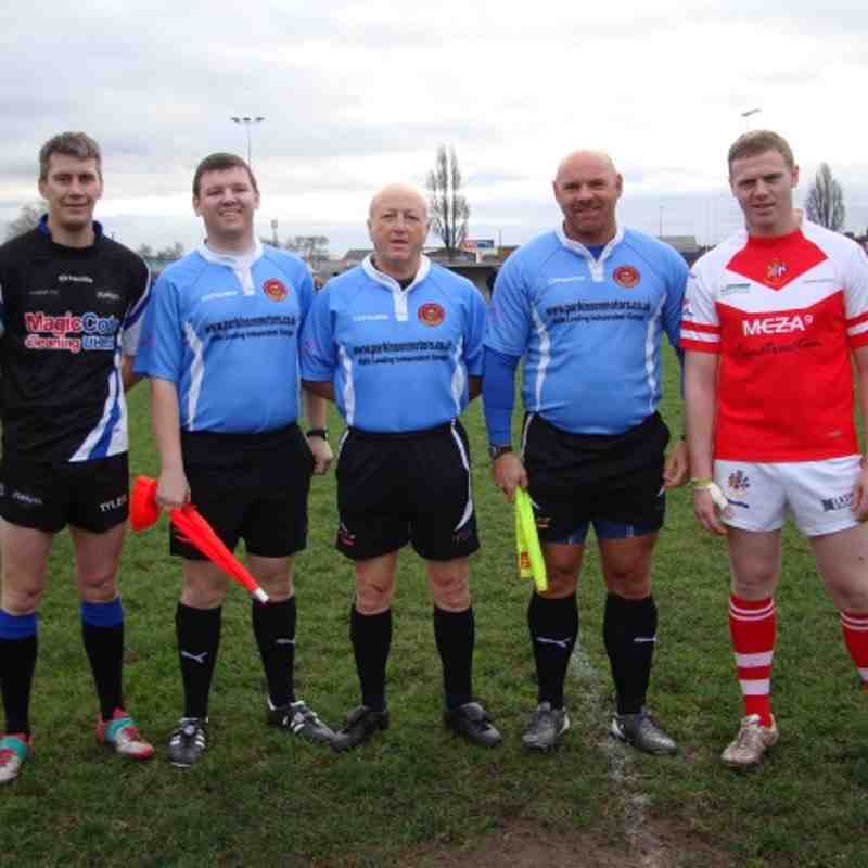 Match Officials : Keith Baldwin, Dave Liddle and Gareth Copeland