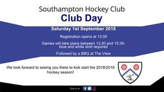 Southampton HC Club Day and BBQ!