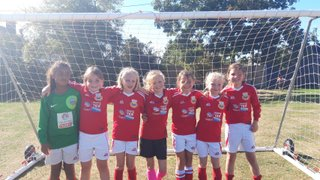 Another great performance from Whitstable Town FC U9 Girls!