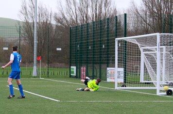 Goal !! One nil...