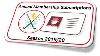 2019-20 Membership - BUY NOW!