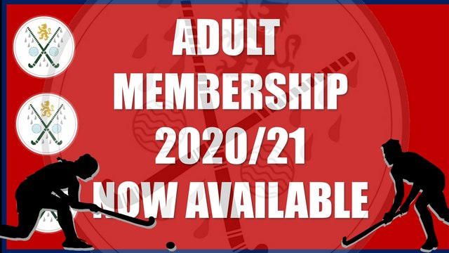 2020/21 ADULT MEMBERSHIP NOW AVAILABLE