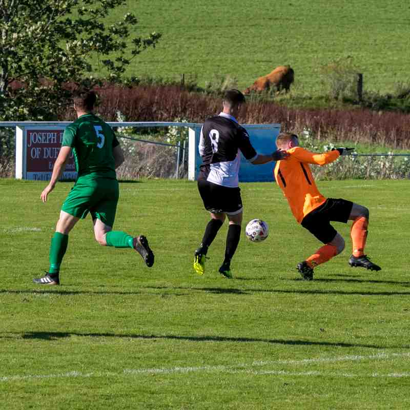 21/09/19 v Dufftown (Inter Regional Cup) Lost 3-1