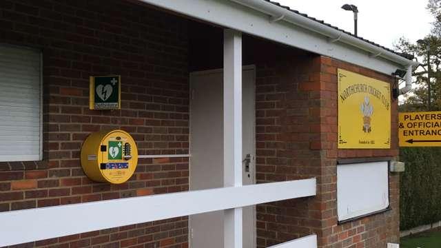 Defibrillator installed at NCC