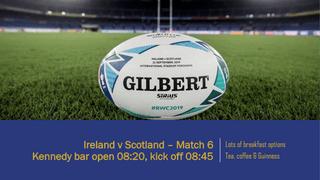 Ireland v Scotland - RWC 2019