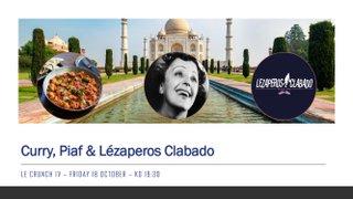 Curry, Piaf & Lézaperos Clabado