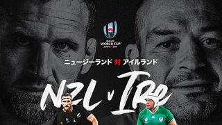 New Zealand v Ireland RWC 1/4 Final