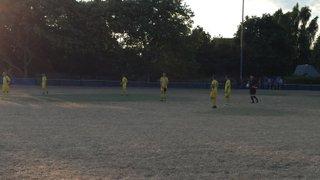 Pre season game at CSFC